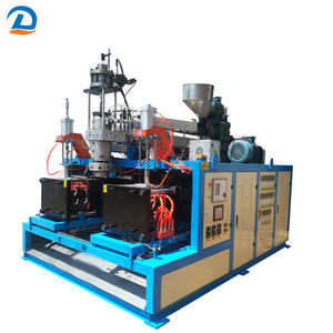 1L-2.5L semi-automatic plastic bottle blow making machine for PE material