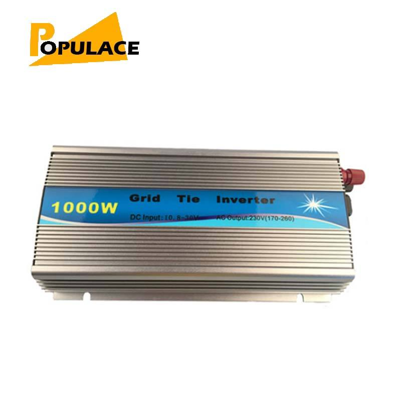 Wind dc micro 1000 w omvormer grid tie China