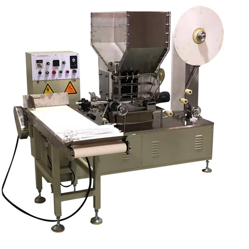 single Paper Drinking Straw Wrapping Packaging Machine Factory