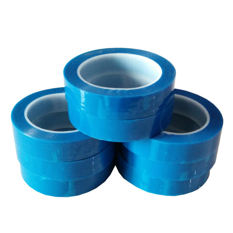 Hot Sales PET Blauwe Tape (koelkast tape) Voor Elektrische Purpose