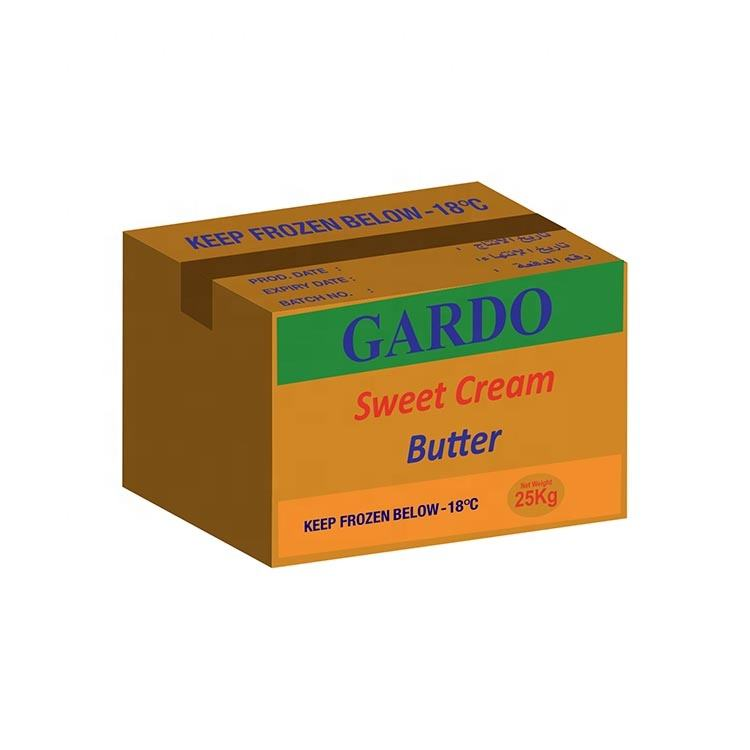 Unsalted Natural Fresh 82% Gardo Sweet Cream Butter