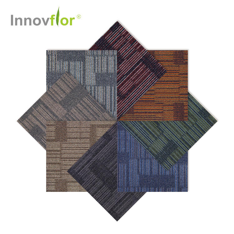 50 By 50 Buy Cheap Price China Modular Thick Commercial Nylon Square Adhesive Floor 50*50 Office Rug Carpet Tiles For Sale
