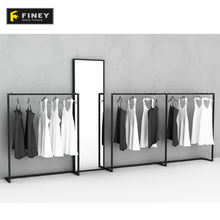 Retail Store Fashion Decorative Retail Clothing Display Rack For Hanging