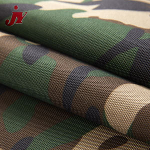High quality 600d pvc coated waterproof polyester camouflage print 600d pu coating oxford fabric for tent