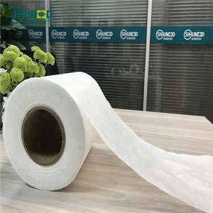 100% Tencel Lyocell Spunlace Nonwoven Fabric Spunlace Non Woven for Wet Tissue