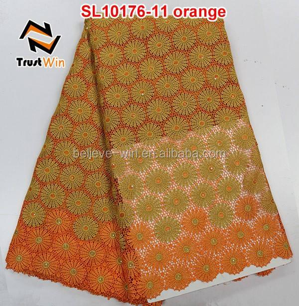 african chemical fabric garment wholesalers in tirupur of SL10176 orange