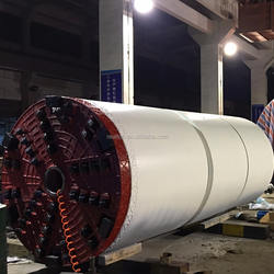 Tunnel Boring Machinery (pipe jacking machines) for underground project