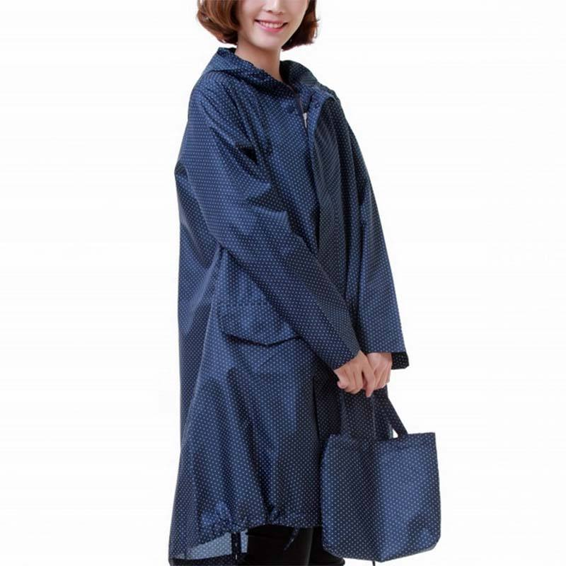 Beautiful Ladies Japan Style Comfortable Rain Coat For Riders With Competitive Price