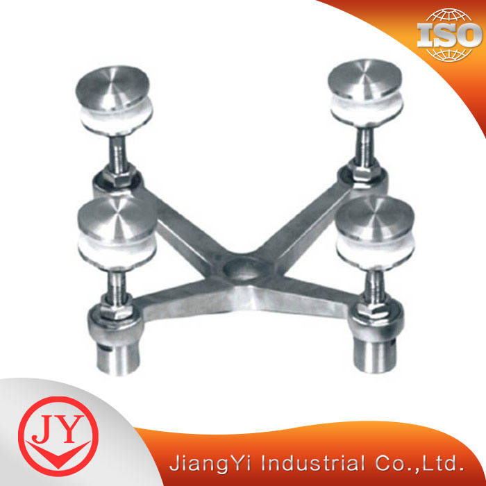 Point Supported Glass Spider Fitting Curtain Wall Fastener Hardware