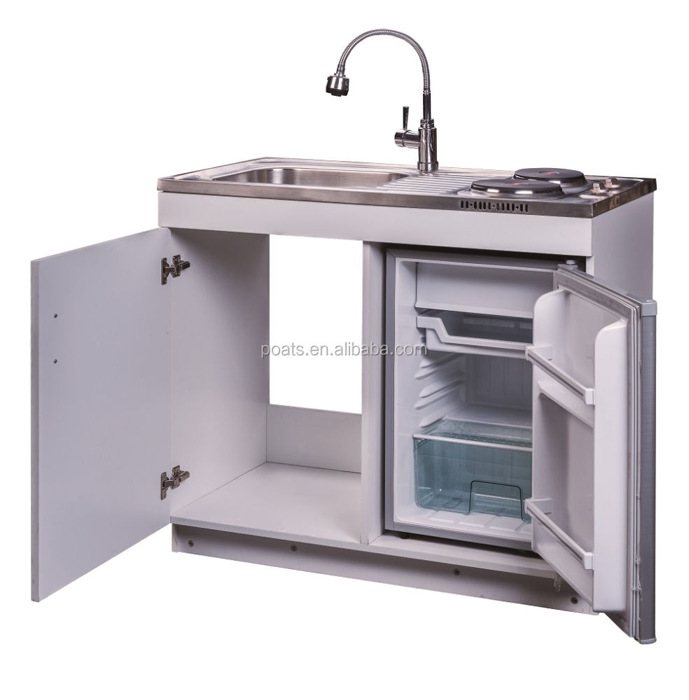 PS-534 steel sink stove combo