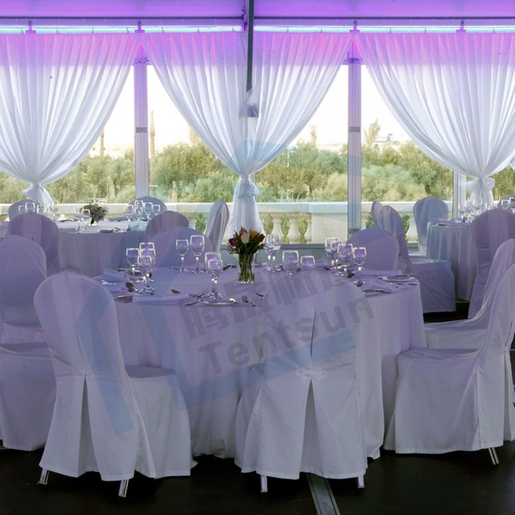 ISO Certificated Outdoor Marquee 300 Seater Wedding Glass Tent