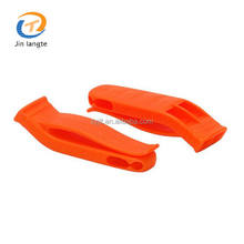 Hot Selling 100-120db Marine Whistles Plastic Safety Whistle For Emergency Survival