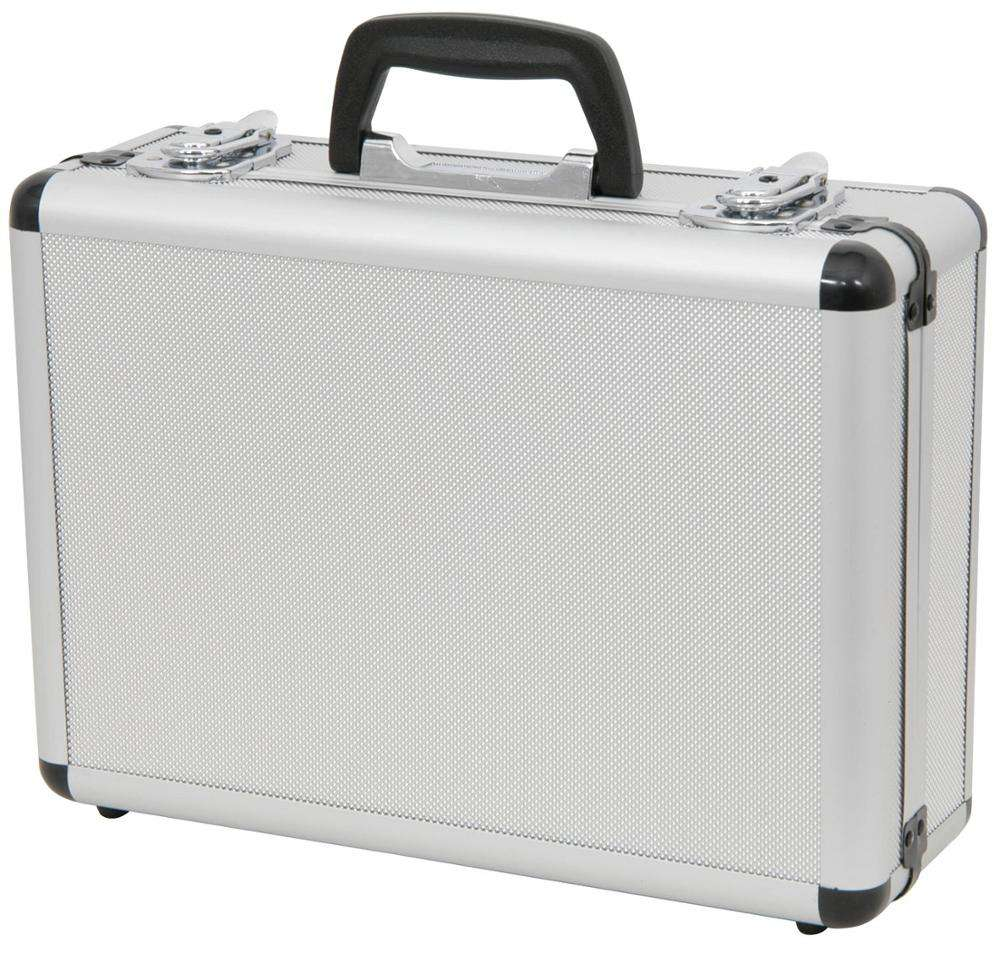 Microphone Flight Case - Lockable Aluminium Box with 2 Keys and Customisable Foam