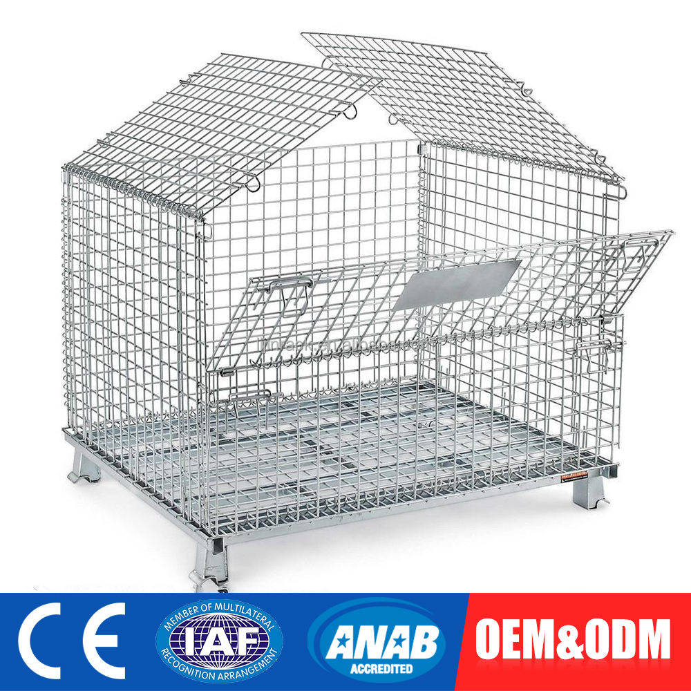 One-Stop Service Mesh Wire Steel Storage Cage