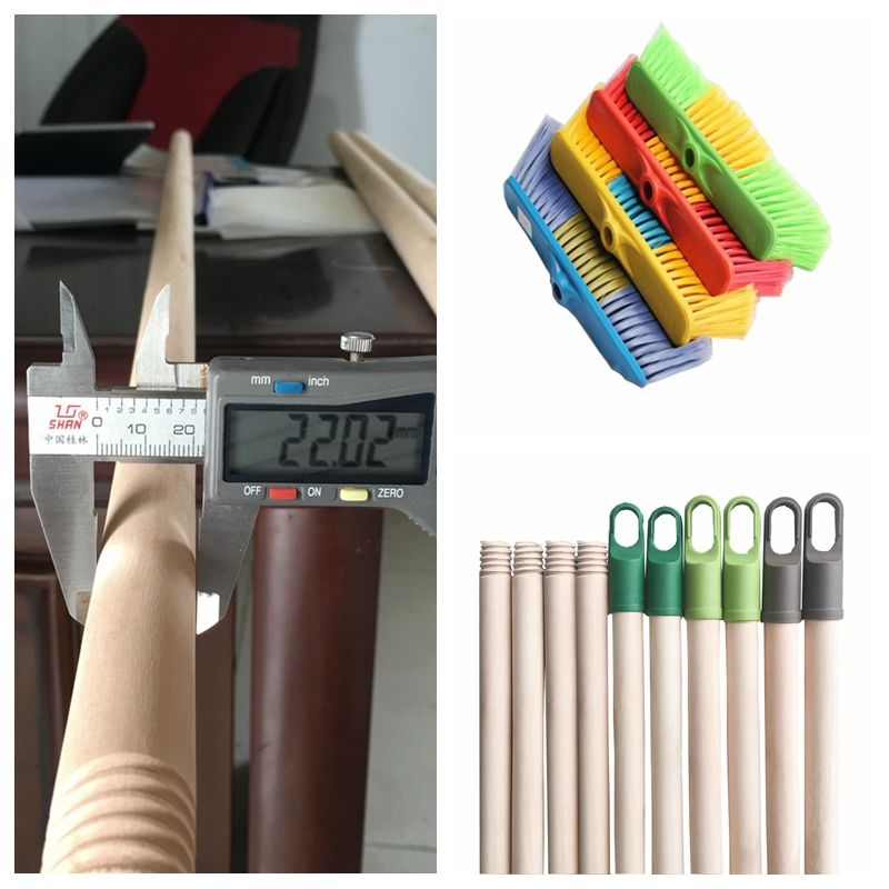 Broom to clean ceilings wooden stick for broom poles brush making machine price