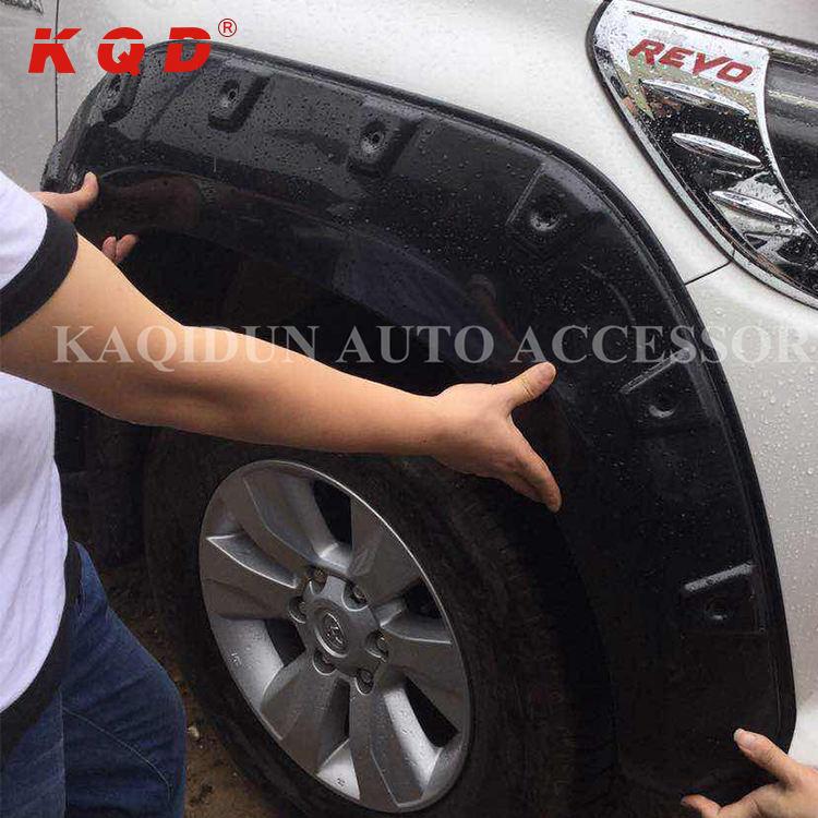 Matte Black Off Road Fener Flares Wheel Arch Fits Ford Ecosport Hatckback 15 17