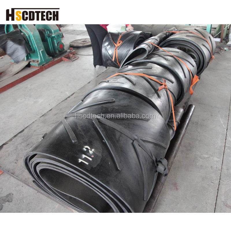 High quality 1200mm belt width V Chevron conveyor belt