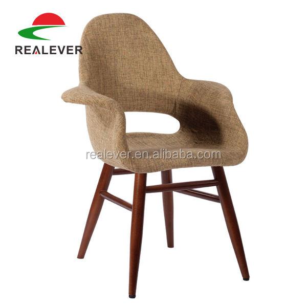 Patchwork muebles réplica Saarinen Eames silla orgánica