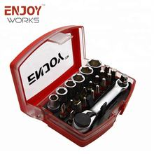 24pcs screwdriver bit and socket set