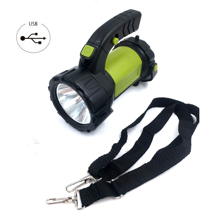 New Arrivals LED Bike Lamp Torch Lantern Searchlight Led Rechargeable Search Find Light Lamp For hunting