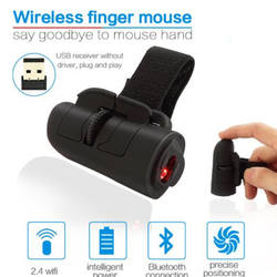 Newest 2.4GHz Wireless Mouse Multi Color Mini Finger Rings Optical Mouse 1200Dpi For PC Laptop Desktop Computer Gaming Mouse
