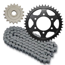 Custom aftermarket parts z1000 chain and sprocket kit for Kawasaki z1000