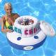 China factory good quality colorful ice bucket inflatable floating drink cooler