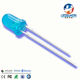 SELL 5mm round through hole diffused blue to blue led diode
