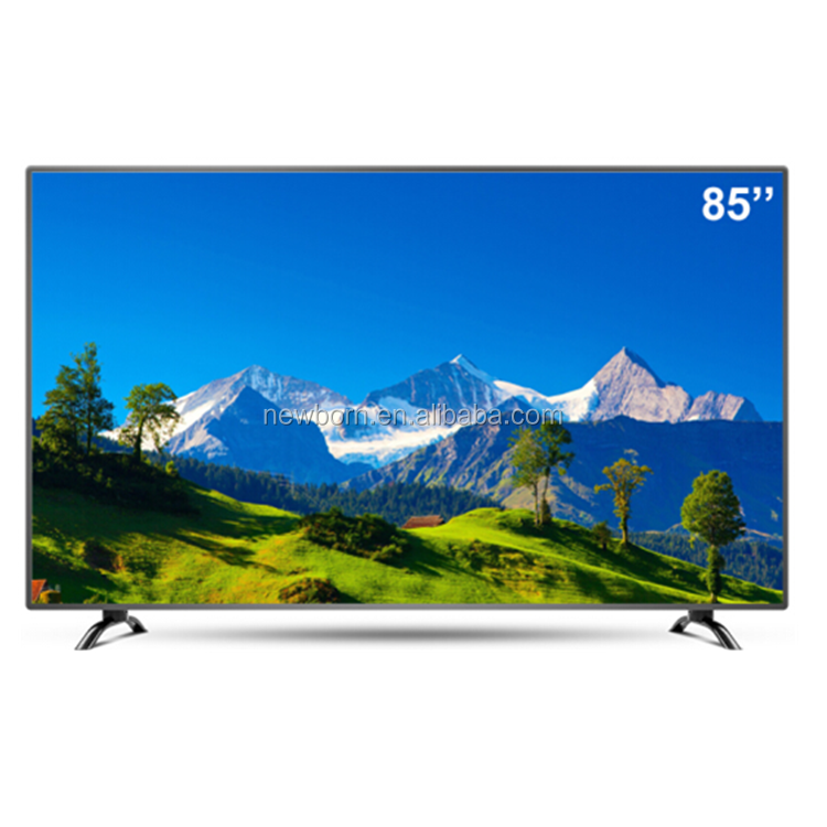 2017 ¡Nuevo! ¡Ultra Slim! <span class=keywords><strong>LED</strong></span> UHD 4K TV 60 pulgadas y 65 pulgadas 70inc 75 pulgadas TFT <span class=keywords><strong>LED</strong></span> VGA DVB-T Monitor <span class=keywords><strong>de</strong></span> TV inteligente
