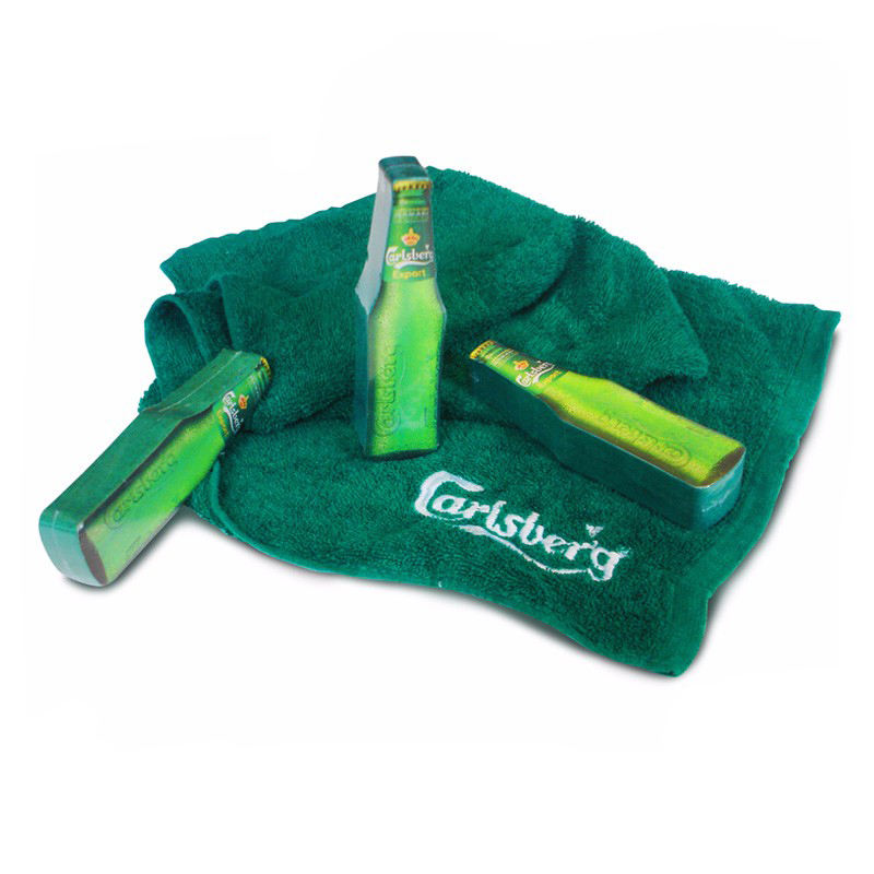 compressed magic towel gifts custom logo advisement giveaways promotional