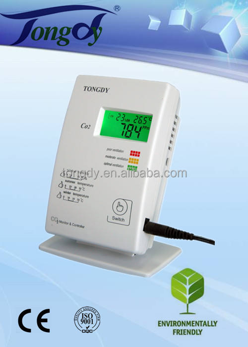 High accuracy Carbon dioxide CO2 analyzer monitor/detector