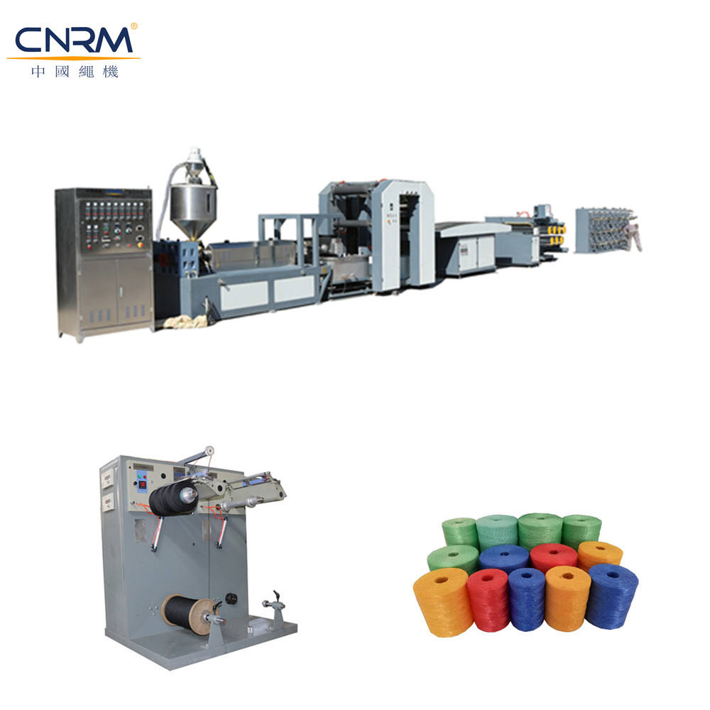 Strap Extruder Machinery PP Strap Production Line Stable PP Plastic from China Haidai PP PE Granules 100KW/60KW 3000kg/24h 4-10