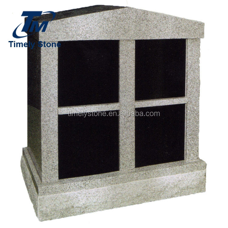 China suppliers granite four columbariums niche for sale