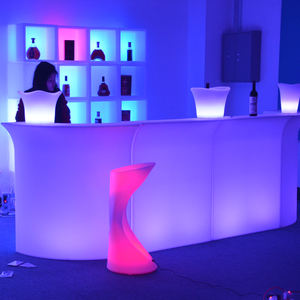 Vendita calda Tavolo Barra di LED/LED Bancone Bar/Light up Bar Mobili