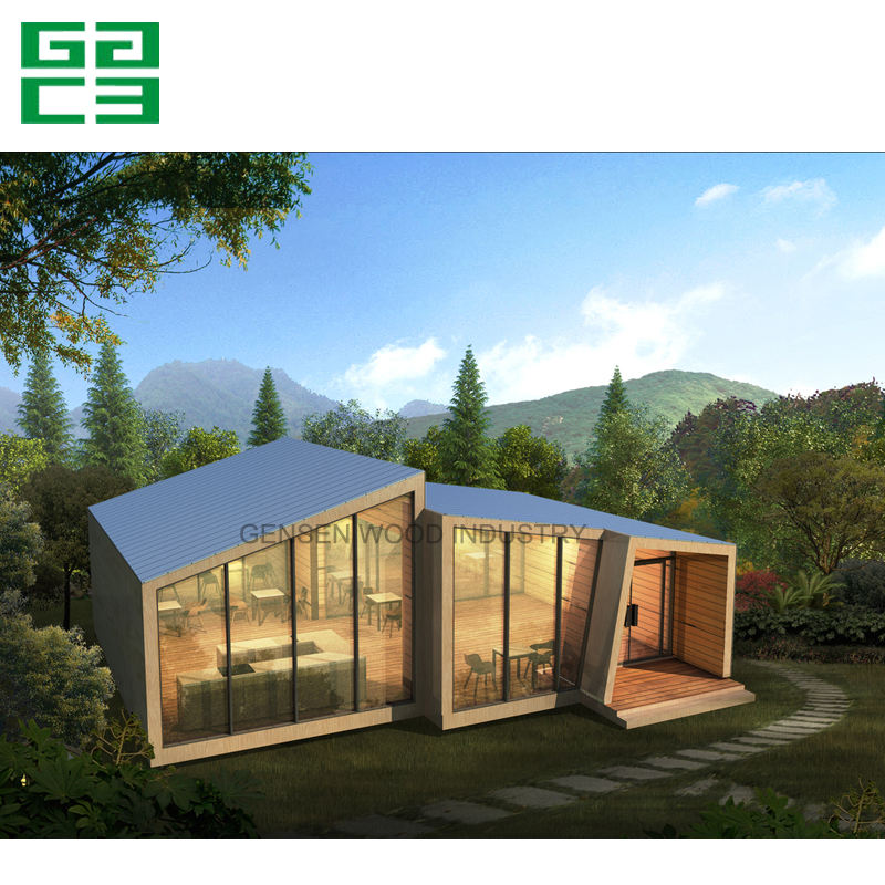 Holiday prefabricated wooden log cabin house on hot sell,wooden house bungalow