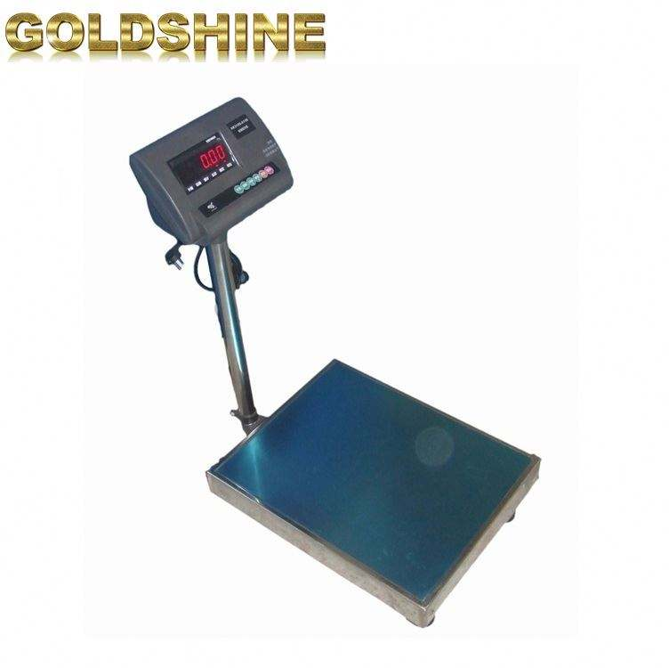 Weight stainless steel scales rs232 commercial 800kg electronic digital platform weighing ntep bench scale