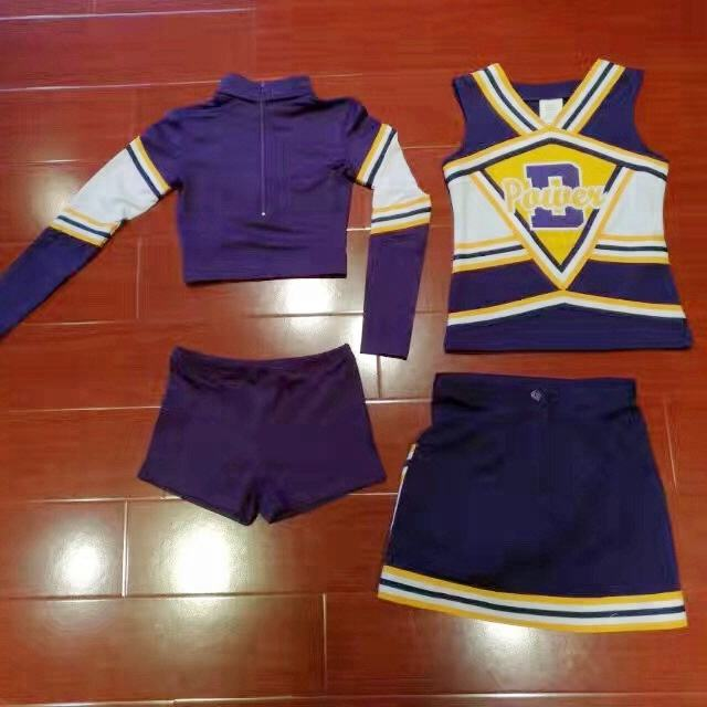 Costumi cheerleader per cheerleading