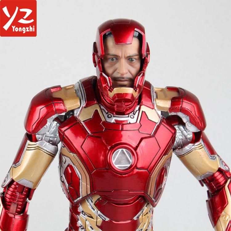 <span class=keywords><strong>Color</strong></span> rojo Marvel venganza hierro loco juguete hombre figura de acción/figuras de acción de plástico Juguetes