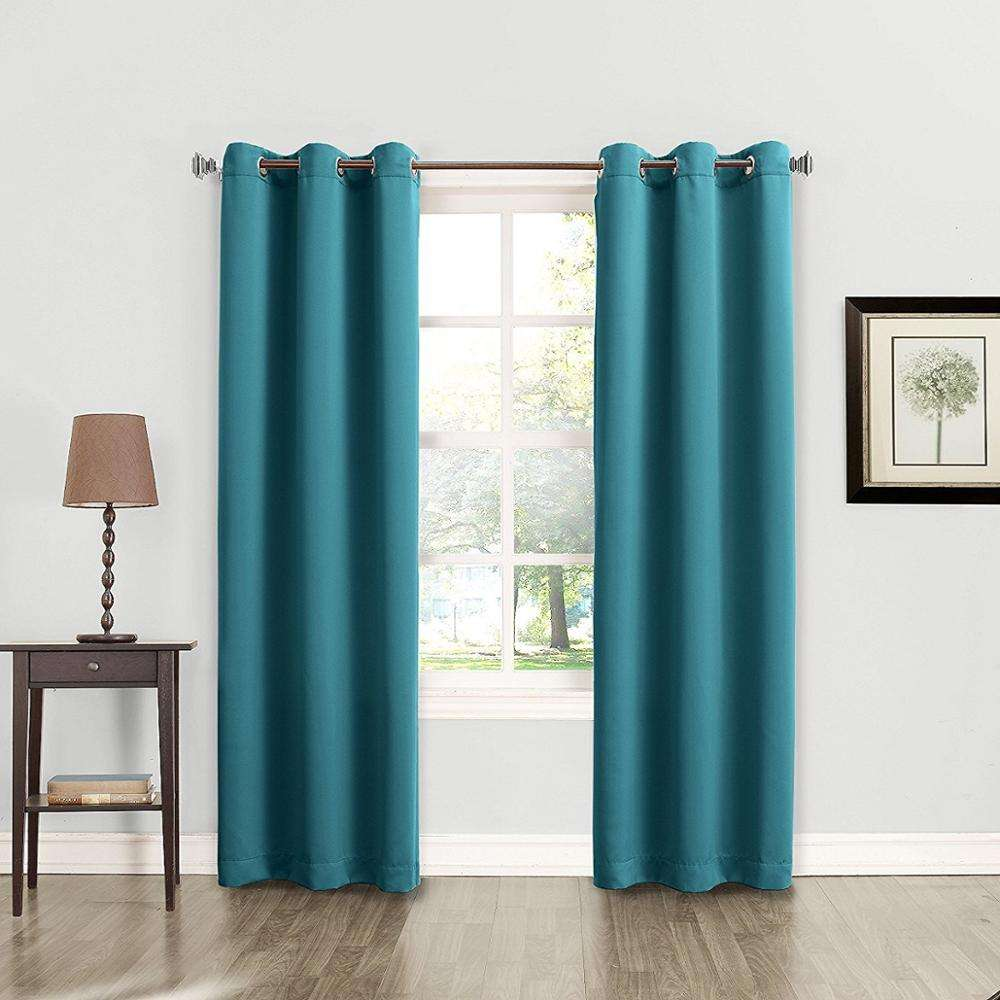 Cheap Window Treatment Arabic 84Inch Length Kitchen Small Door Window Curtain