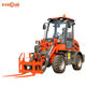 ER08 0.8Ton mini wheel loader front end loader with log grapple