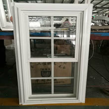 American Style J-Channel Pvc Double Hung Windows Factory Price Upvc Window Design