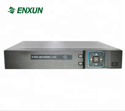 Enxun Low Cost Hybrid HD DVR 16ch 1080N AHD DVR Player H.264 Support 1 HDD