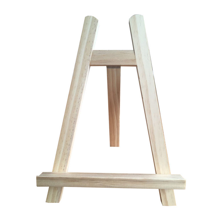 Customized Mini Wooden Easel With Logo