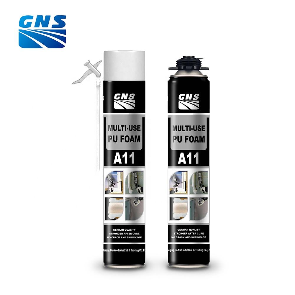 GNS A11 expansion of polyurethane foam, structural expanding foam, expansion foam price