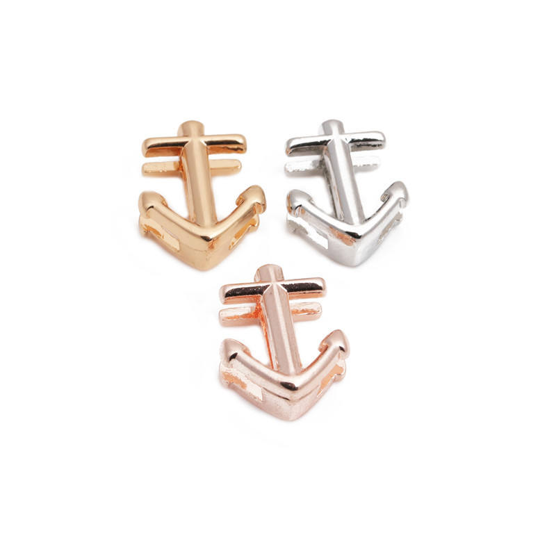 Hot Sale Alloy Charms Simple Pretty Charms Slider for bracelets mesh Jewelry findings Charms Slide for Jewelry Making