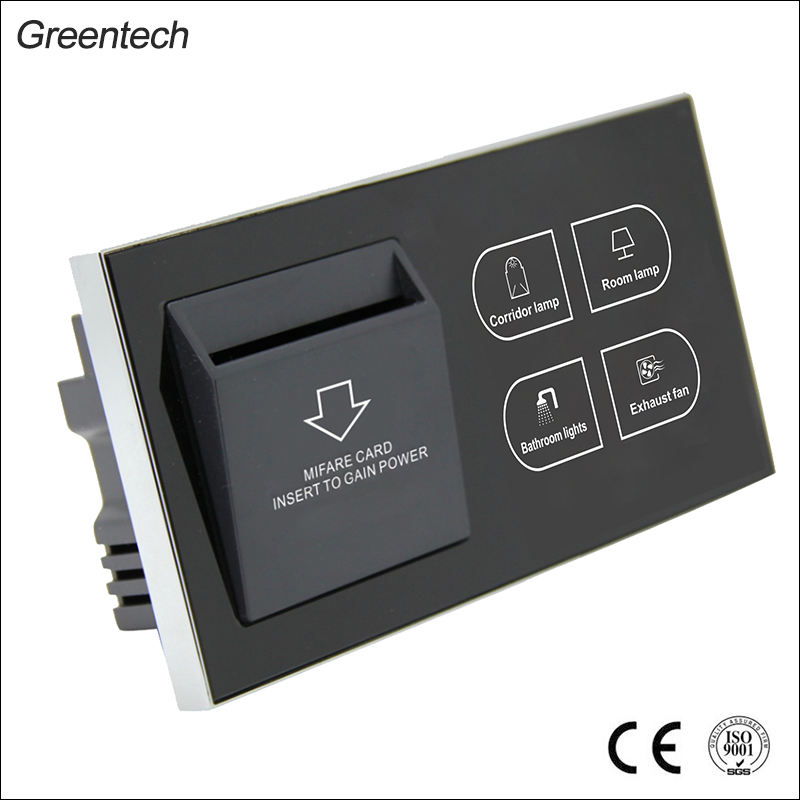 Hotel Key Card Holder Licht Intelligente Elektrische Wand Bedienfeld Schalter