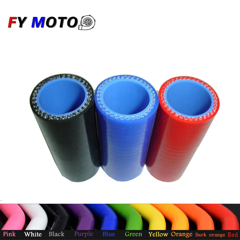 for Turbo Intercooler 68mm(2 11/16'') Flexible Heat Resistance Auto Straight Coupler Silicone Rubber Hose Tube