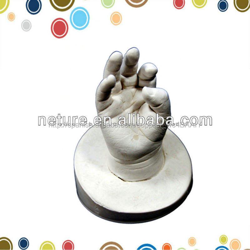 2015 hotsale <span class=keywords><strong>alginato</strong></span> bebé 3D de pies y manos fundido a presión