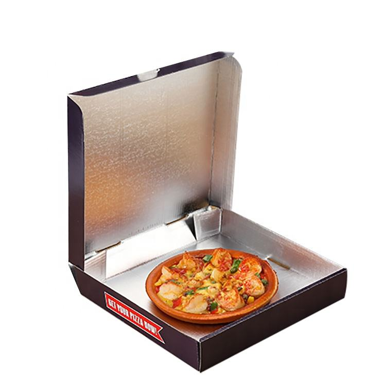 Aangepaste Aluminiumfolie Thermische <span class=keywords><strong>Pizza</strong></span> <span class=keywords><strong>Box</strong></span> Te Koop