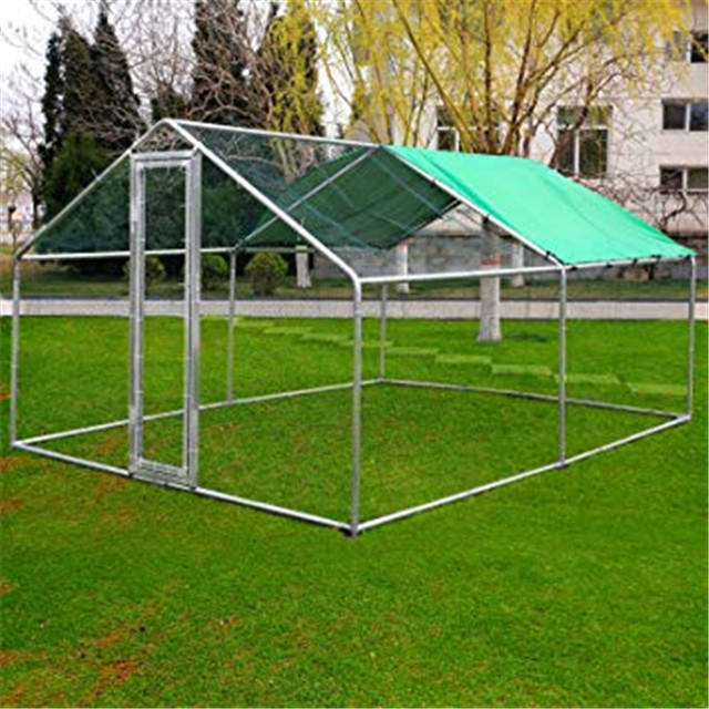 Hot selling walk in chicken run animal cages metal chicken coop for sale large rabbit hutch